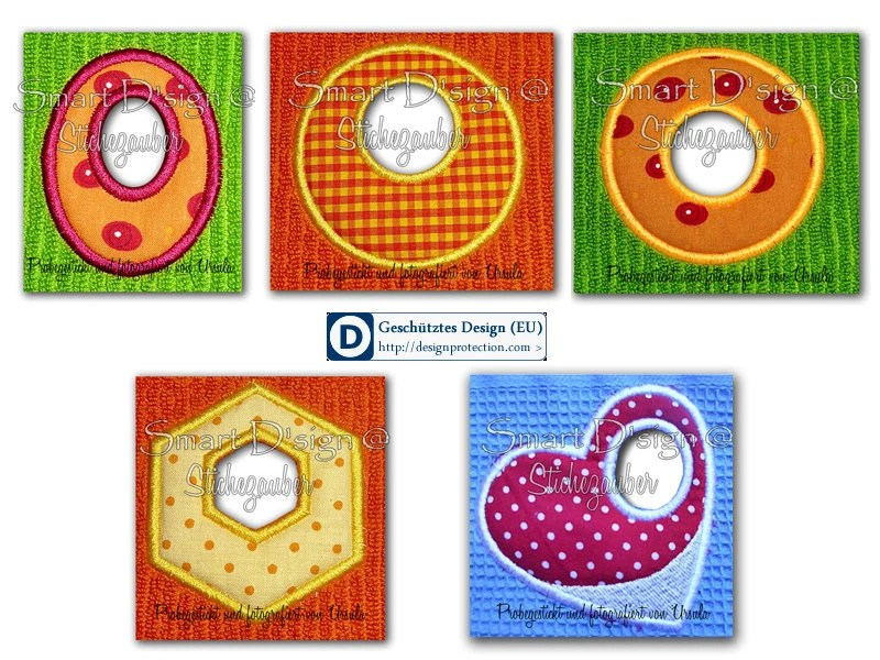 ITH Machine Embroidery Design 6x Towel Topper Designs Digital