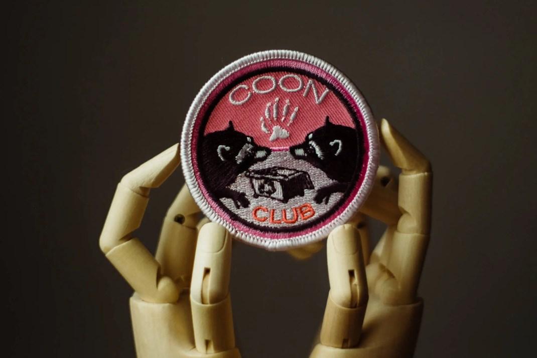 Raccoon Patch   Sew on   ...