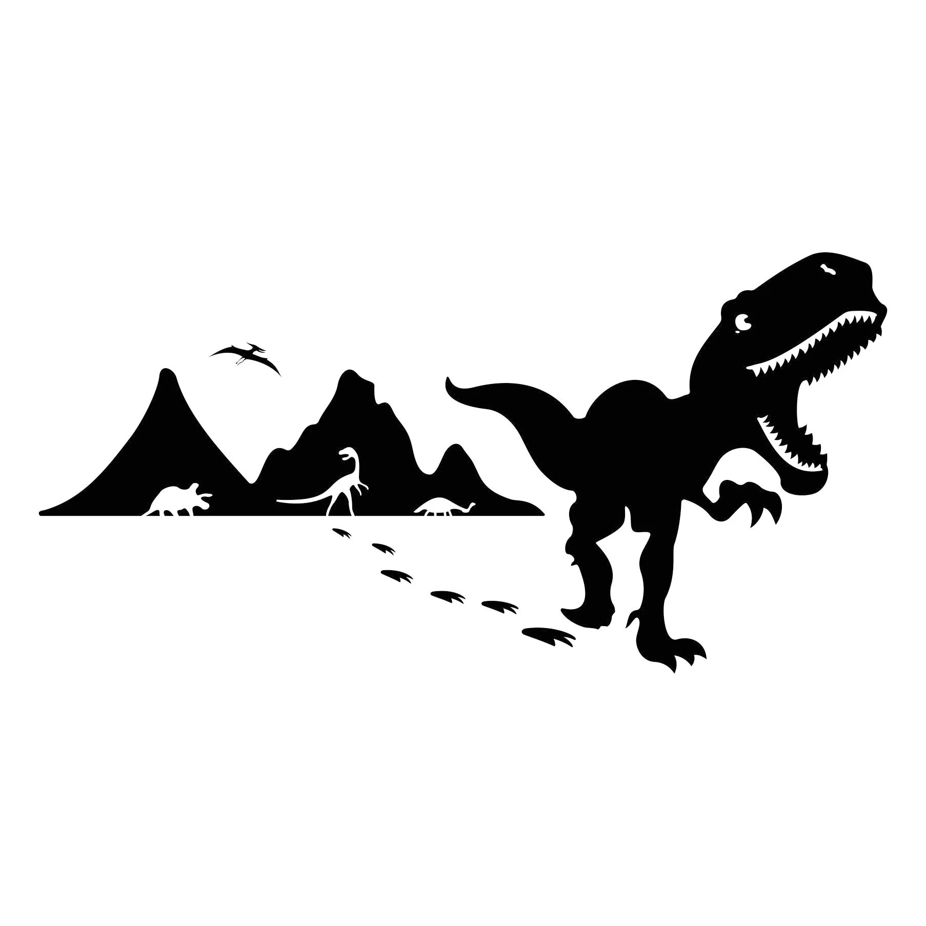 Dinosaurs T Rex Graphics Svg Dxf Eps Cdr Ai Vector Art
