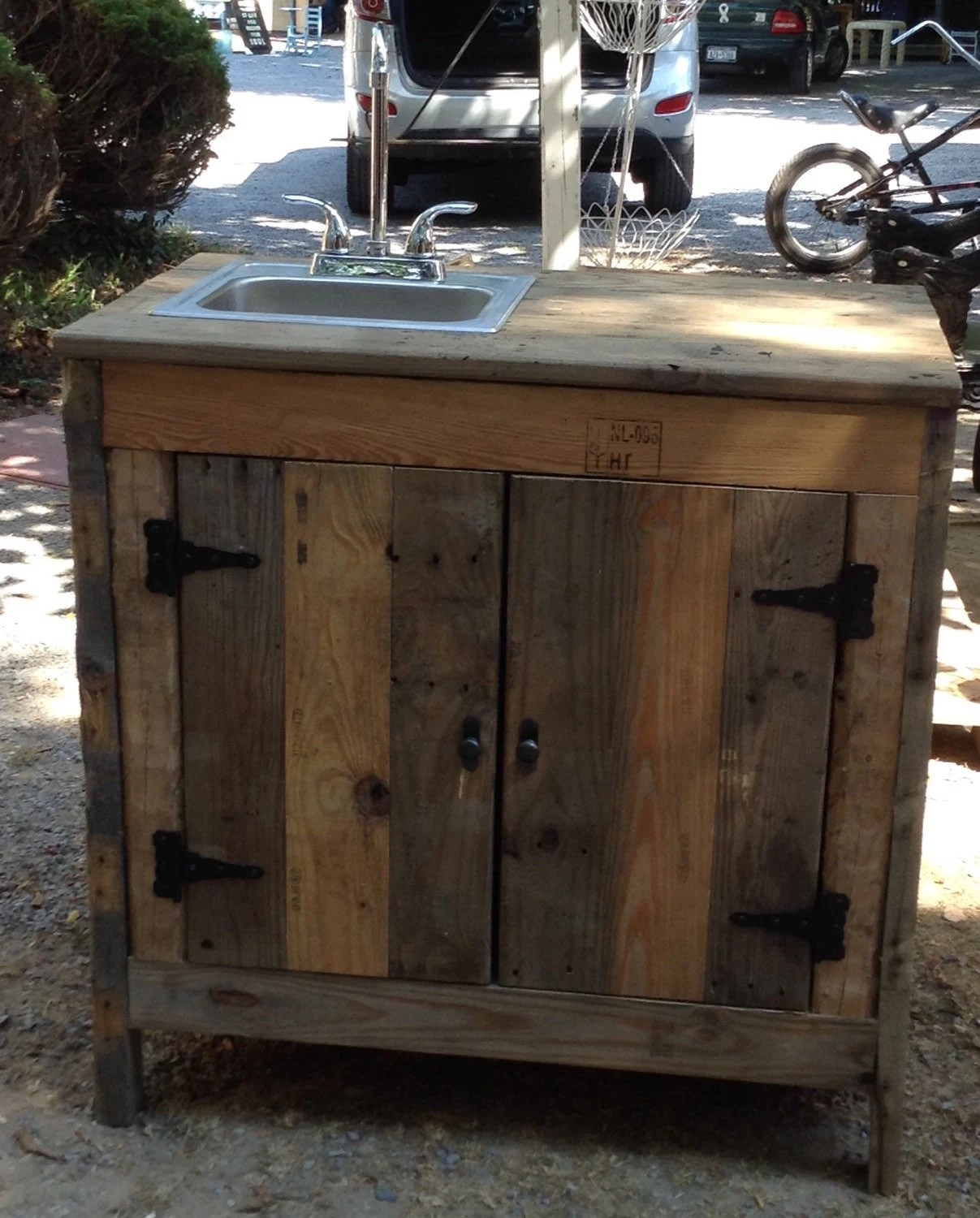 Sink Cabinet For Outdoor Entertainment Area Kitchen Or on Outdoor Patio Sink id=80525