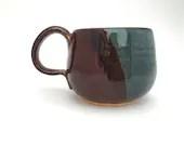 Mug - Blue Brown Dip / te...