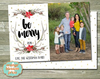 chalkboard christmas photo holiday card - Costco Christmas Card