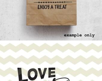 Download Love is Sweet Enjoy a Treat Sign Tropical Shower Dessert Bar
