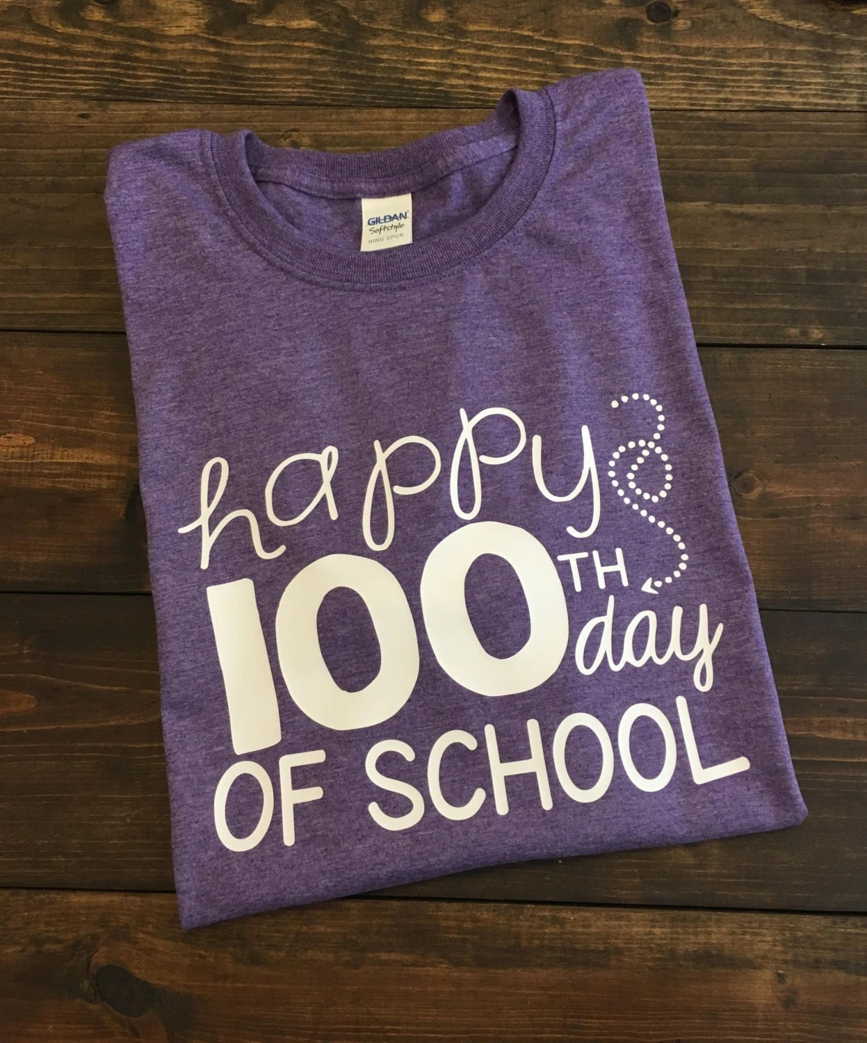 Happy 100th Day Of School Teacher T Shirt 100th Day Of School