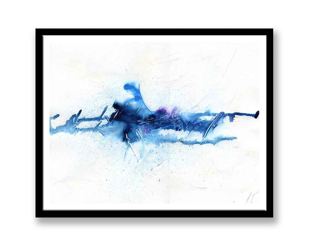 Large Blue abstract  //  ...