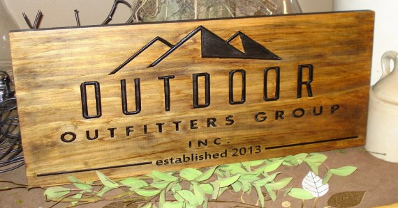 Custom craft booth sign on Etsy