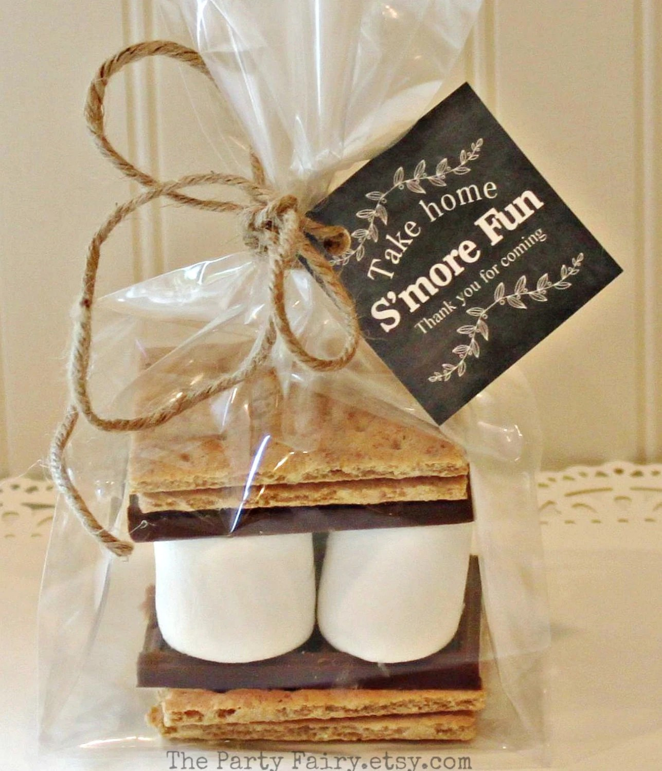 Smores Party Favor Kits 12 Smores Favor Kits With