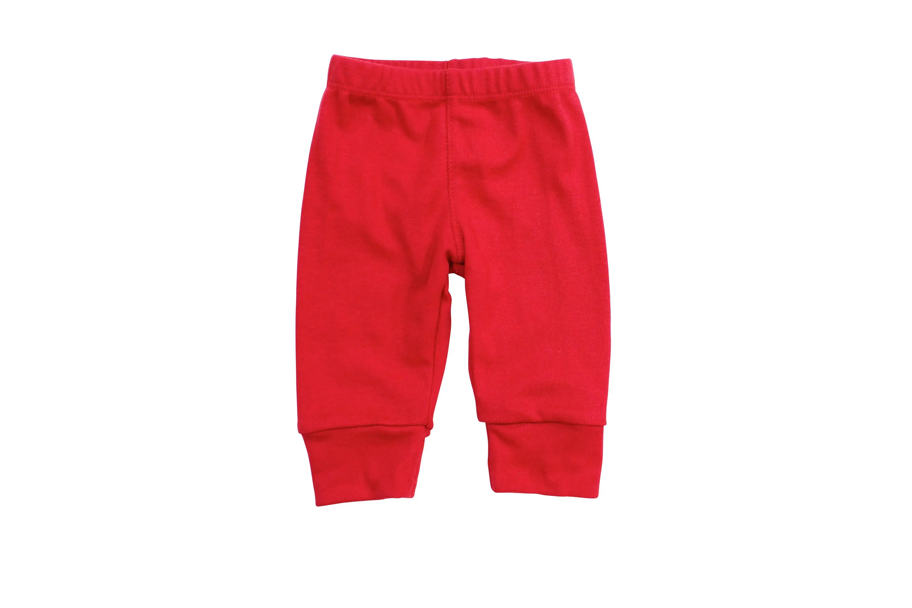 Red Baby Pants Baby Boy Pants Knit Leggings Red Christmas