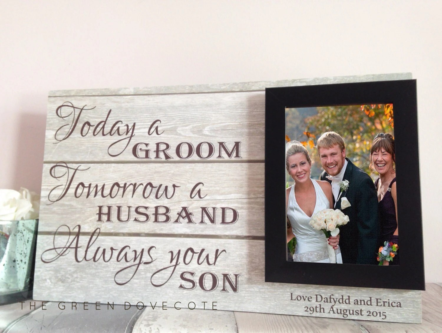 Mother Of The Groom Gift Mother In Law Wedding Gift Thank