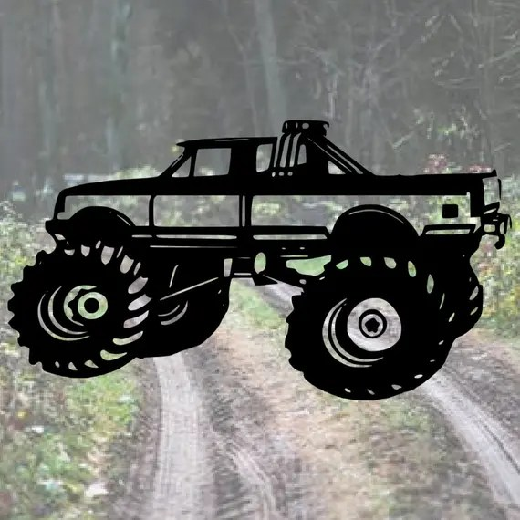 Download Monster Truck SVG SVG Cut Files SVGs Svg Files Svg