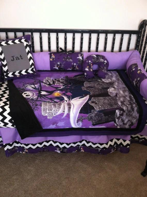 Nightmare Before Christmas Baby Bedding Sets Funkthishouse