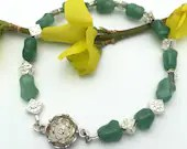 Sterling Silver and Jade ...