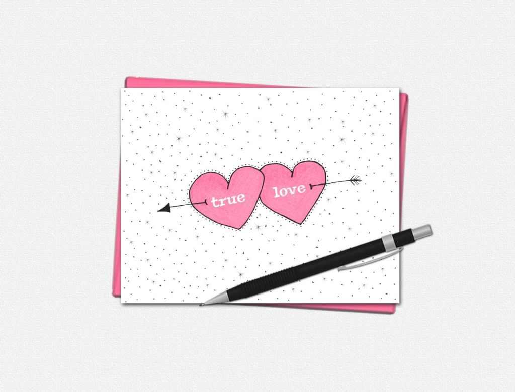 True Love Valentines Day Cards