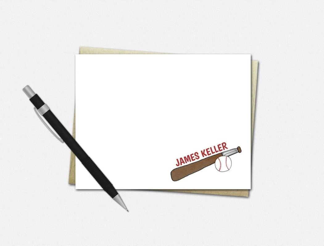 Custom Note Cards - BASEB...
