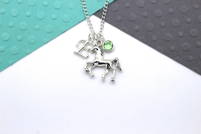 Personalised Horse Necklace