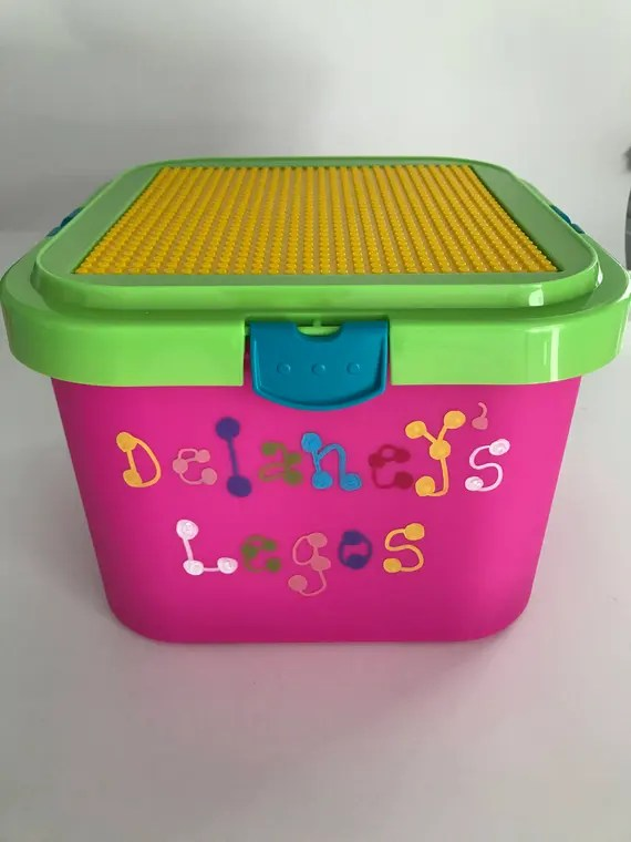 Personalised Lego Storage Box