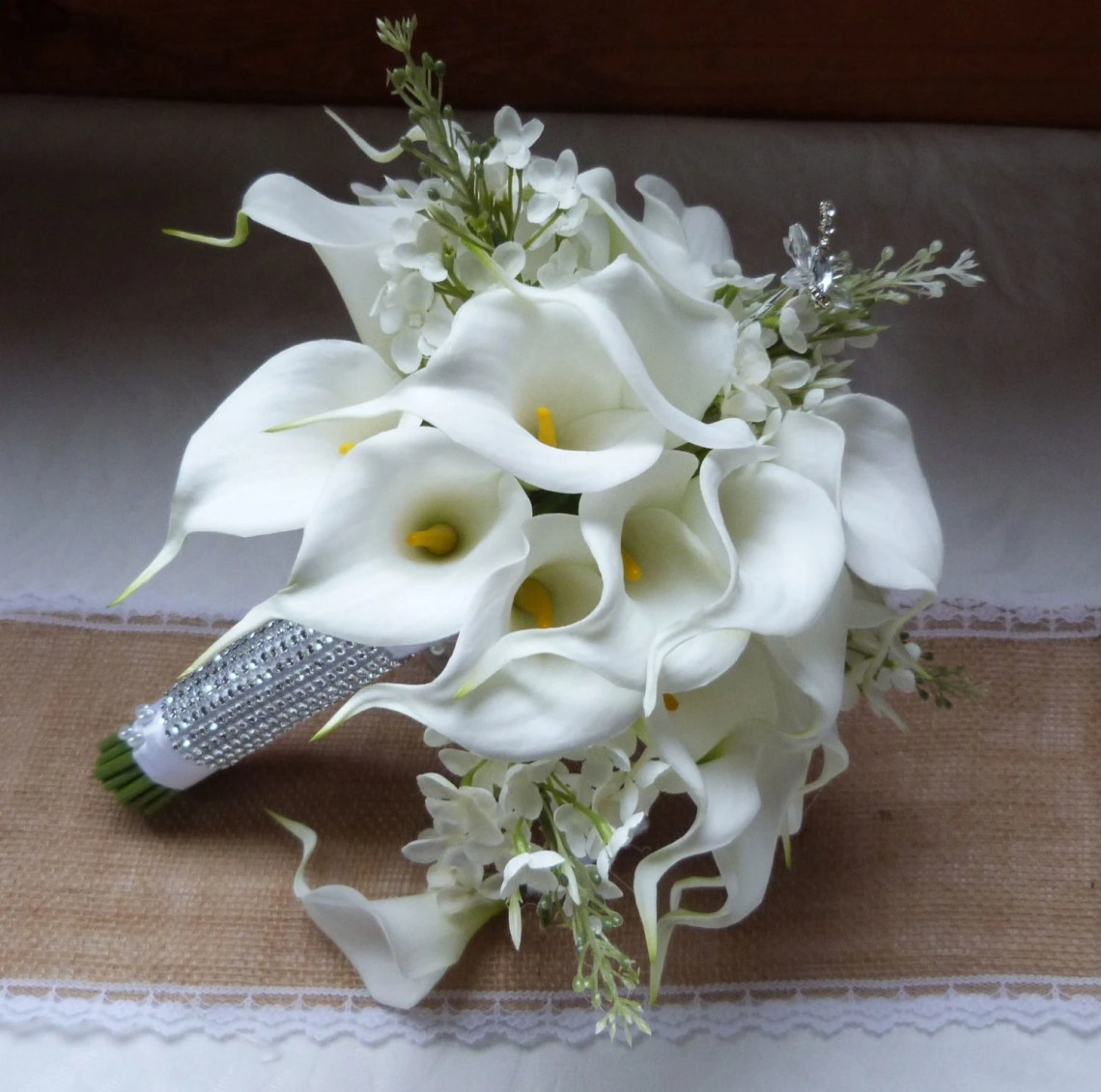 Image Result For Beautiful White Winter Wedding Bouquet Ideas