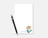 Custom Notepads - Mermaid...