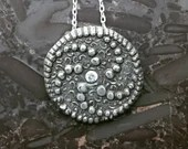 Silver Necklace Pendant N...
