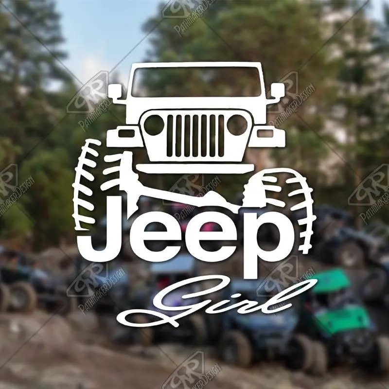 DECAL – [Jeep Girl] - V...