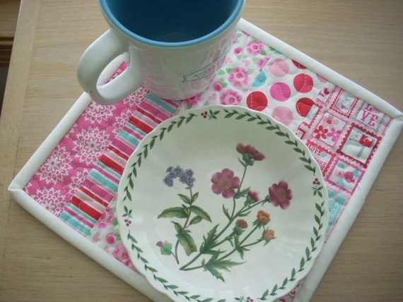 lovey dovey snack mat - FREE SHIPPING