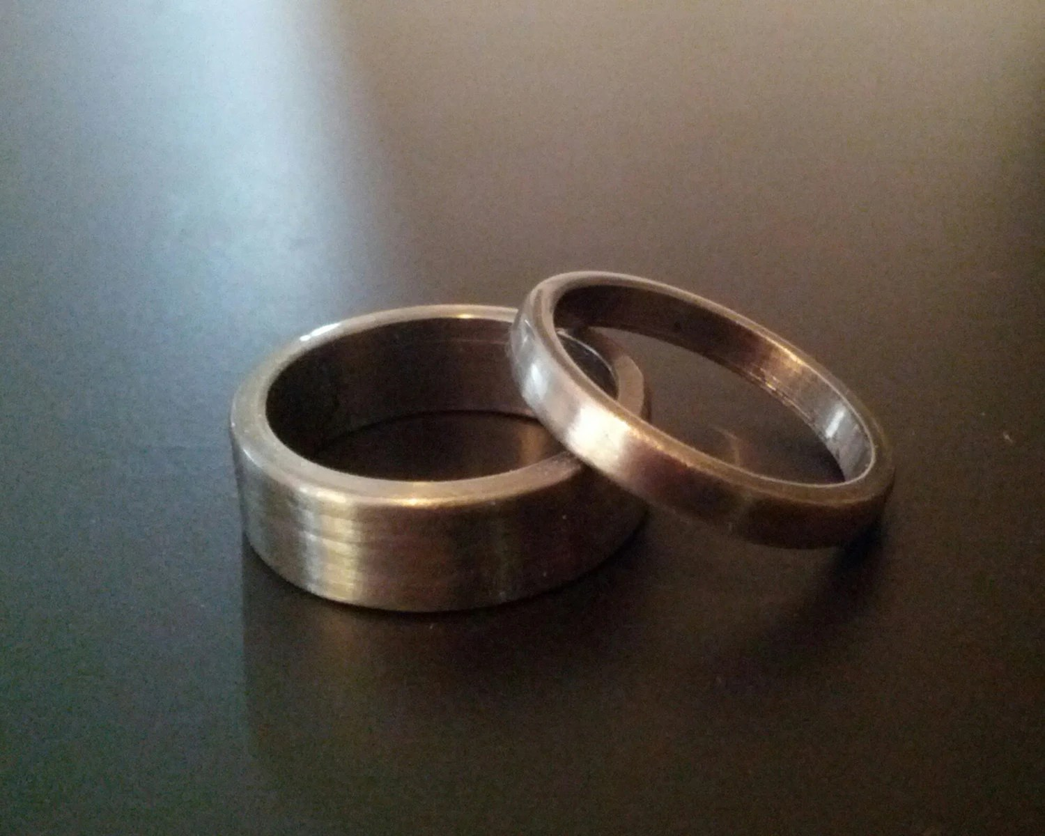 Gun Barrel Wedding Band VE92 Advancedmassagebysara