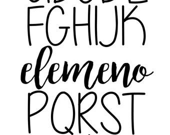 Download Elemeno | Etsy