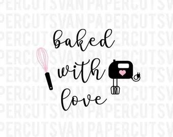 Download Baked with love   Etsy