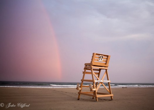 Beach rainbow at Wildwood...