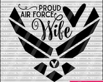 Download Air force svg file | Etsy