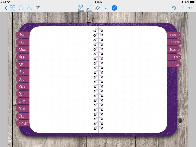 En-Digital planner Purple...