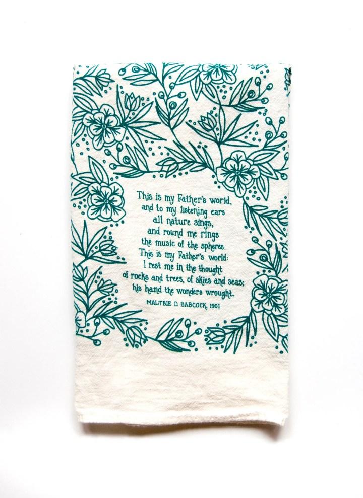 Hymn Tea Towel This Is My...