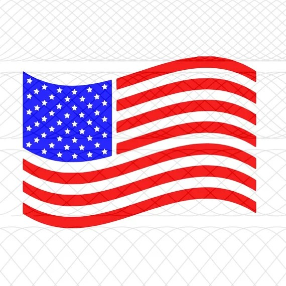 Download American Flag SVGPNGSTUDIO3 Cut Files for Silhouette