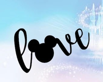 Download Love mickey mouse   Etsy