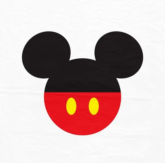 Download Mickey Mouse SVG Mickey Mouse Ears SVG Mickey mouse with red
