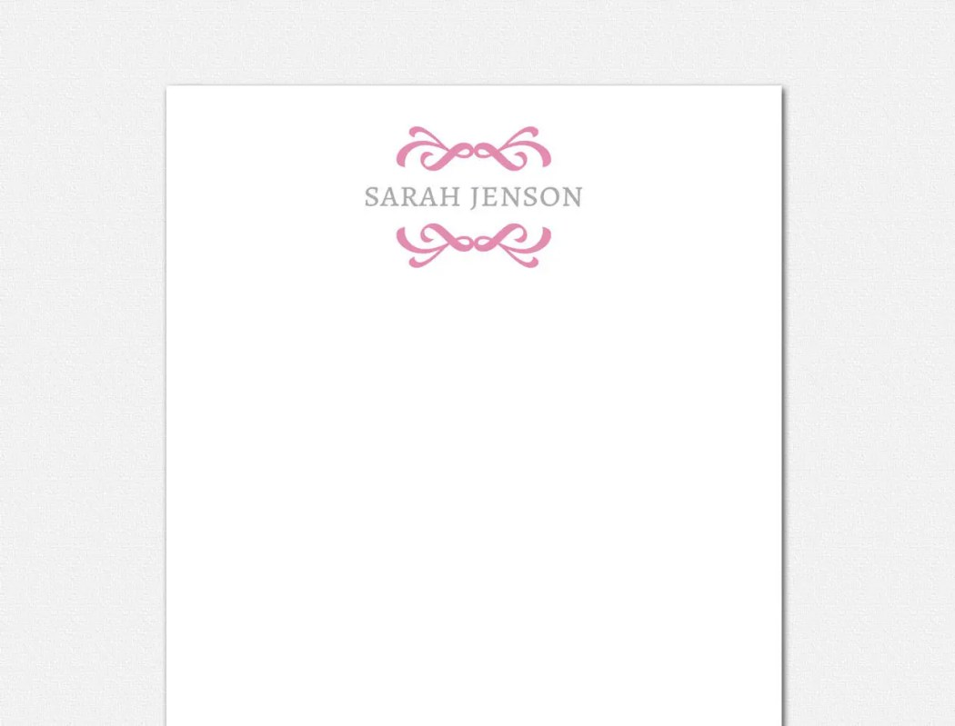 Personalized Notepad - Mo...