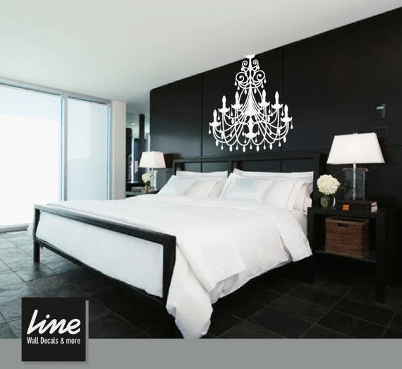 Chandelier Wall Decal by LimeWallDecor