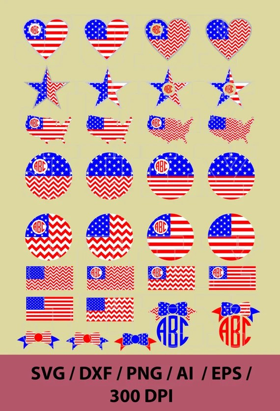 Download American Flag SVG Cut Files 4th of july svg American Flag