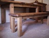 bench seat, wood natural ...