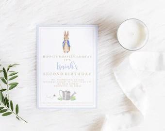 Find beatrix potter baby shower invitations invitationscriative peter rabbit invitation bunny baby shower birthday filmwisefo