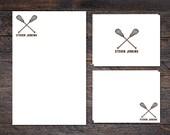 Lacrosse Stationery Set -...