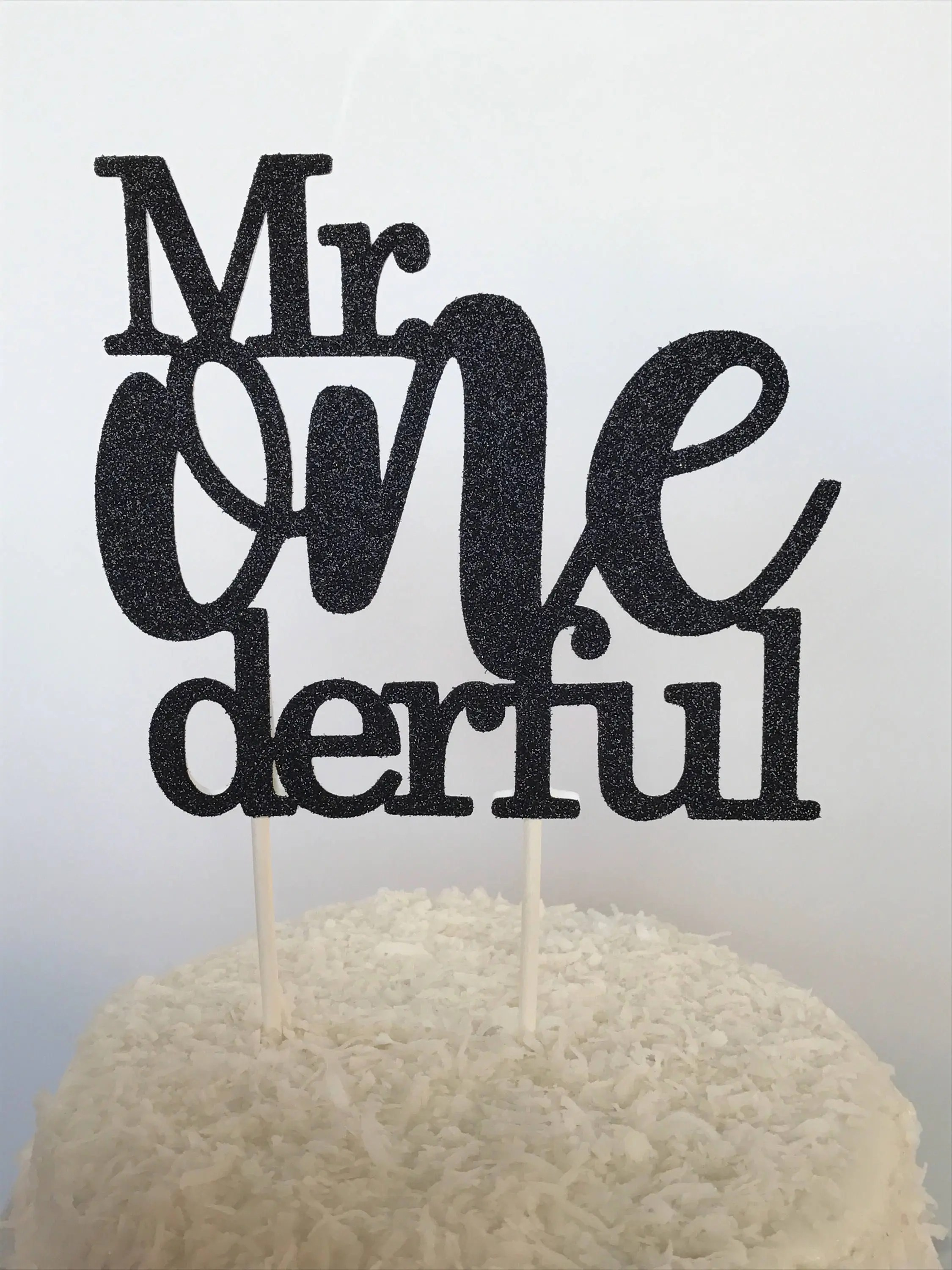 Mr Onederful Cake Topper Boy First Birthday Cake Topper Mr