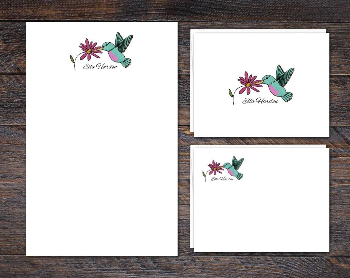 Hummingbird Stationery Se...