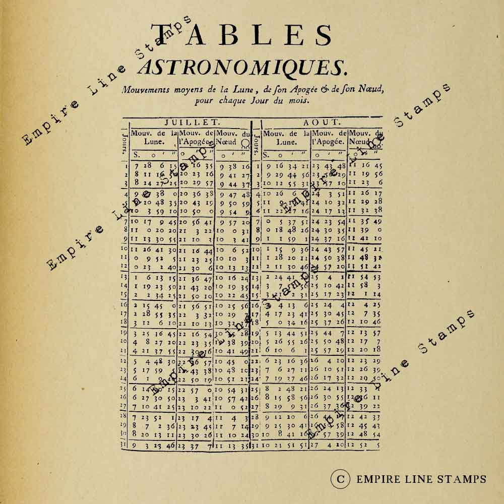 Astronomical Tables - Dig...