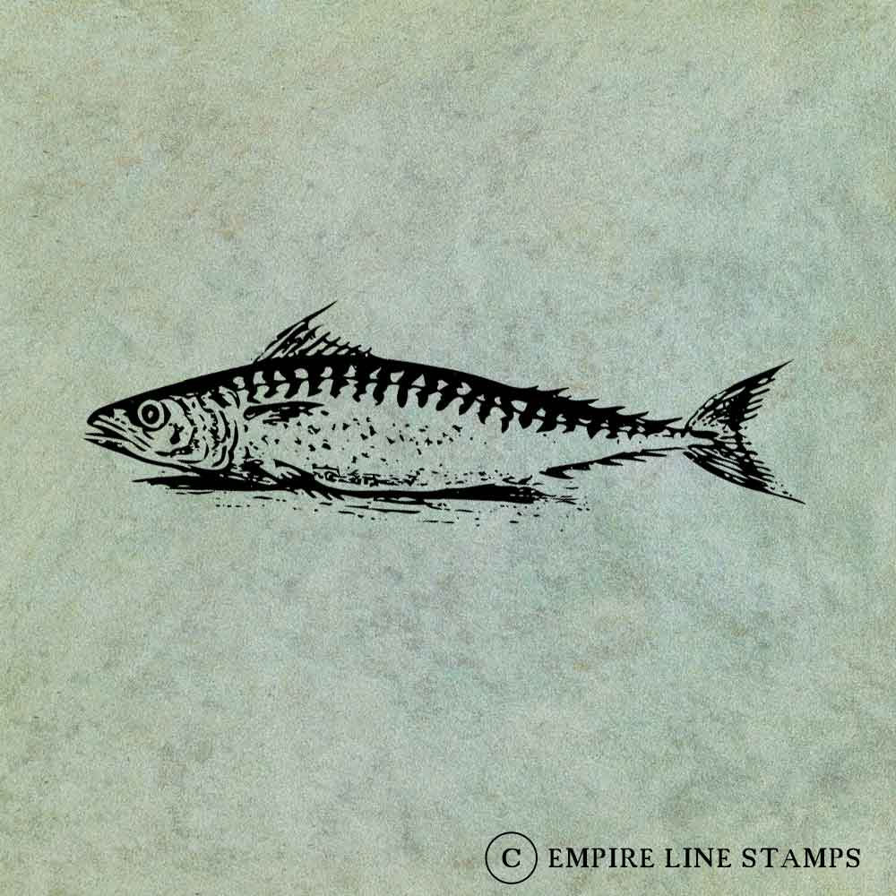 Fish LARGE - Antique Styl...