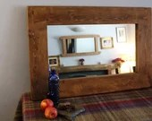 mirror, wood natural & ec...