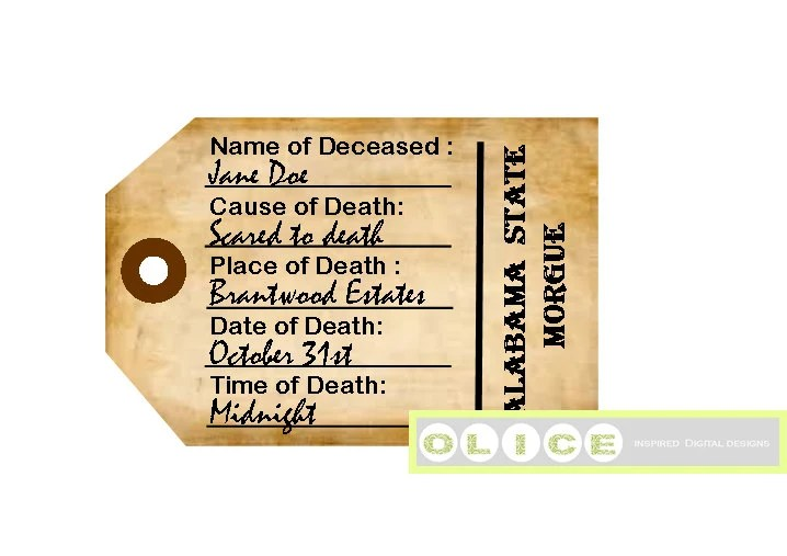 printable toe tags halloween