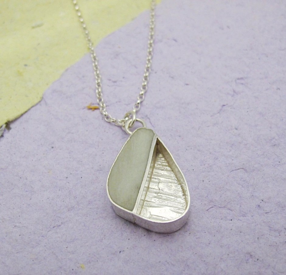 Unusual sterling silver n...