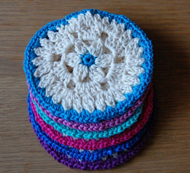 Crochet Coaster Pattern...
