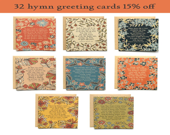Floral Hymn Greeting Card...
